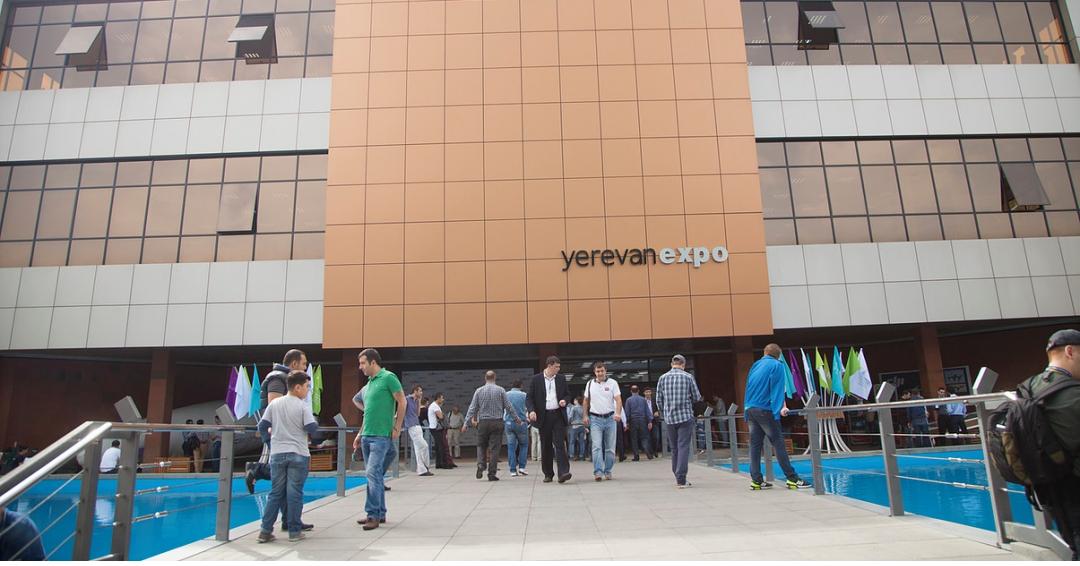 نمایشگاه آرویک 4 در ایروان ارمنستان ( تخصصی مواد غذایی و صنایع وابسته )